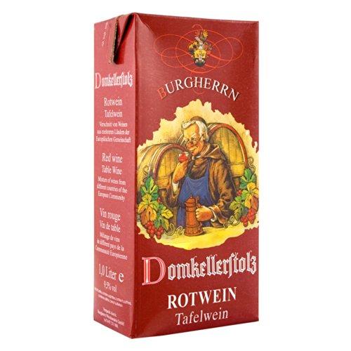 Domkellerstolz Rotwein 9,5 %Vol. Germany Tetrapack 1 Liter