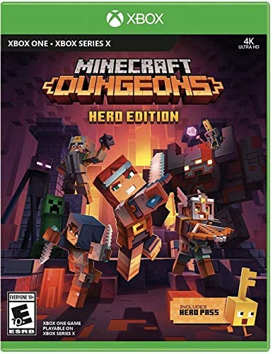 Minecraft Dungeons Hero Edition Xbox One product image