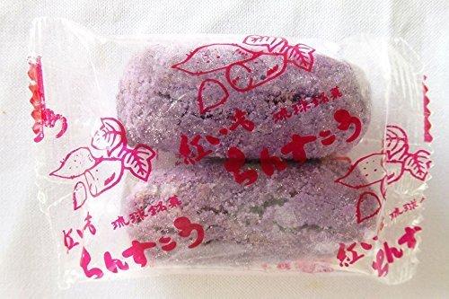 訳ありちんすこう ちんすこう 紅いも 500個入り 名嘉真製菓本舗 沖縄土産 老舗ちんすこう専門店の味 甘すぎず、しつこくない サクサク食感 ばらまき土産にも