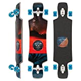 Sector 9 Ledger Complete 40 Inch Maple Top Mount Longboard for Carving...