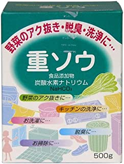 【食品添加物】重ソウ(炭酸水素ナトリウム)500g