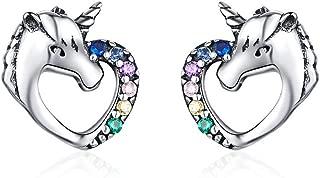 Hypoallergenic Stud Earrings for Girls Women S925...