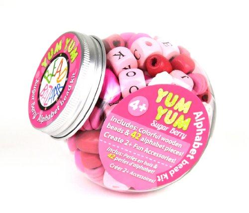 Bead Bazaar : Yum Yum Sugar Berry Alphabet Bead Kit