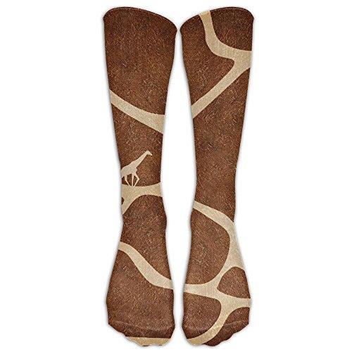 NOLIN AZU Whitetail Deer Soft Stockings Sport Sock Compression Socks For Travel Running Sports Socks For Running,Medical,Athletic Shin Splints UNISEX