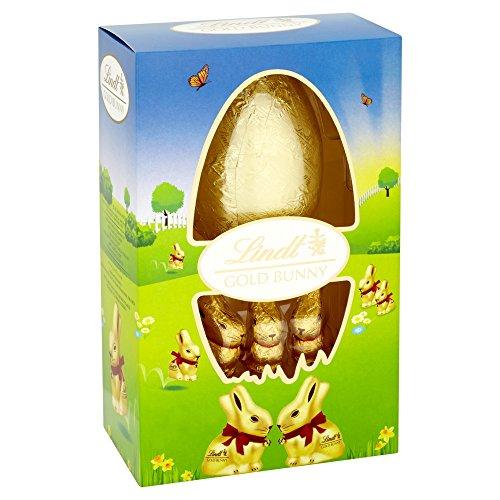 Lindt Oro coniglietto Uovo latte Cioccolato, 125g
