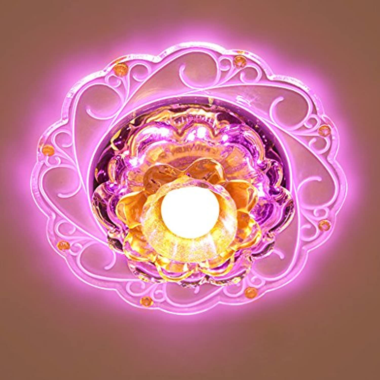 LED-Ganglichter Flurbeleuchtung LED-Strahler Decke Wohnzimmer Deckenstrahler Wohnzimmerlampe Kristall-Einbauleuchte