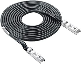 10G SFP+ DAC Cable - 10GBASE-CU Passive Direct Attach Copper Twinax SFP Cable for Cisco SFP-H10GB-CU2M, Ubiquiti, D-Link, Supermicro, Netgear, Mikrotik, Open Switch Devices, 2m