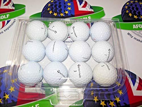 24 TaylorMade TOUR PREFERRED Lake Golf Balls - Pearl / Grade A - from Ace Golf Balls by TaylorMade