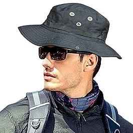 MerryBIY Sports et Extérieur Sun-shading Chapeau Bucket Hat Boonie Camping Chasse Pêche Vert Armée Jungle camouflage…