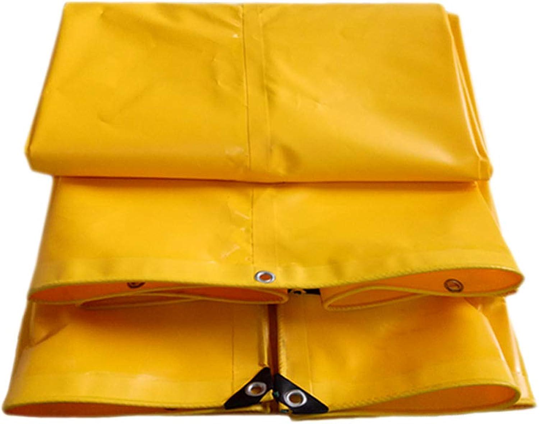 Wasserdichte Plane, im im im Freien Starker Sonnenschutz Windproof Rainproof staubdichte LKW-Segeltuch-Plane, gelb B07GR112Z3  Flut Schuhe Liste 8d55a6