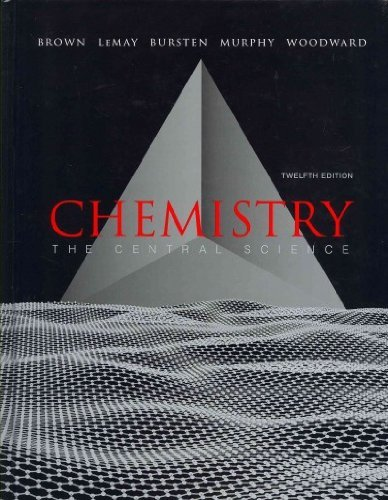 Download Chemistry: The Central Science with MasteringChemistry  with Laboratory Experiments (12th Edition) 0321778545
