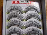 MODEL 21 False fake No. 7,8 or 9, 16, 16A, 19, 19A, 28 OR 28A Eyelashes 10 Pairs