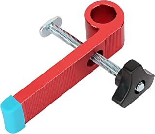 Wood Clamp, Simple Structure Aluminium Alloy Wood Clamp, T-type Slide Slot Wood Clamp Tool Limiter for Industry(Type B)