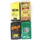 Puerto Rican Smooth Coffee Variety - Cafe Lealtad| Cafe Lareno| Cafe Oro| Cafe Coqui - (1 - 8oz pack of each)