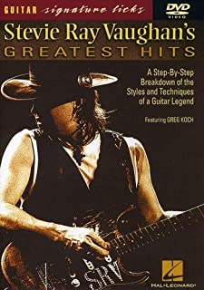Stevie Ray Vaughan's Greatest Hits - Signature Licks