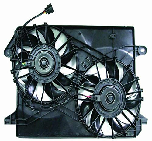 DEPO 333-55006-000 Replacement Engine Cooling Fan Assembly (This product is an aftermarket product. It is not created or sold by the OE car company)