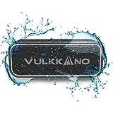 VULKKANO Blast+ Altavoz Bluetooth Potente 40W, Altavoz Portátil Impermeable IP67, Bluetooth 5.0, Sonido estéreo HiFi con Micrófono, Diseño Sólido, TWS, AUX, USB-C, Carga rápida, 18 Horas