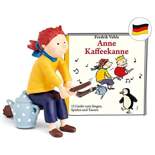 tonies Hörfiguren für Toniebox: Anne KAFFEEKANNE Figur mit 12 Kinderliedern - ca. 40 Min. - ab 4 Jahre - DEUTSCH