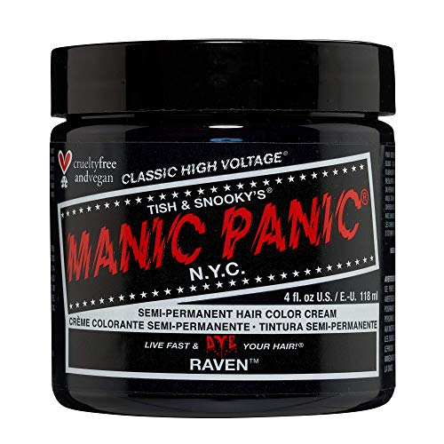 Manic Panic High Voltage Classic Semi-Permanente Haarfarbe (Raven)