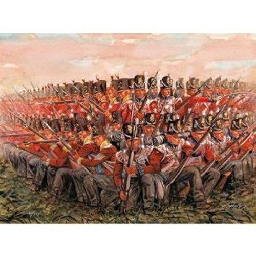 Italeri 510006095 - 1:72 Napoleon Kriege - Brit Infanterie 1815
