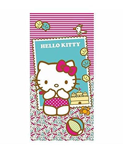 Hello Kitty- Toalla, Multicolor, 140x1x70 cm (Astro Europa 39955)