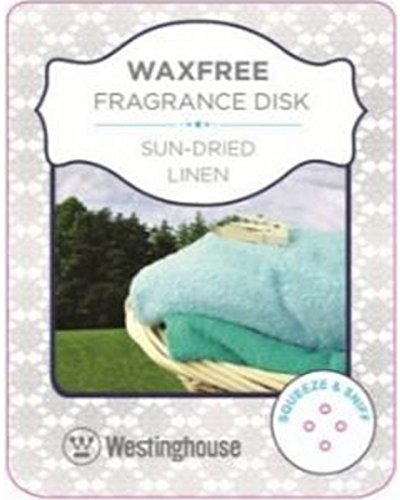 Westinghouse Wax Free Fragrance Disk-Sun Dried Linen