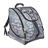 Athalon Everything Ski Boot Bag and Backpack – Ski - Snowboard – Holds Everything – (Ski Boots, Helmet, Goggles, Gloves)