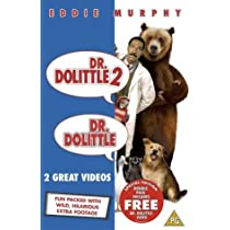 Dr Dolittle / Dr Dolittle 2 [VHS] [2001] [DVD] by Betty Thomas