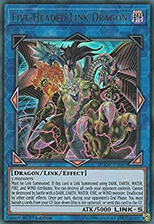 Five-Headed Link Dragon - DUOV-EN007 - Ultra Rare - 1st Edition