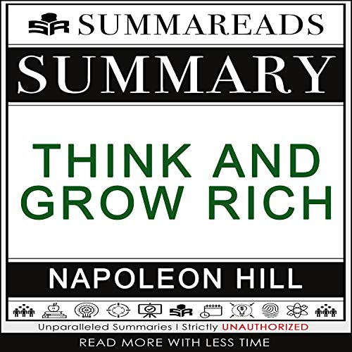 Summary of Think and Grow Rich by Napoleon Hill cover art