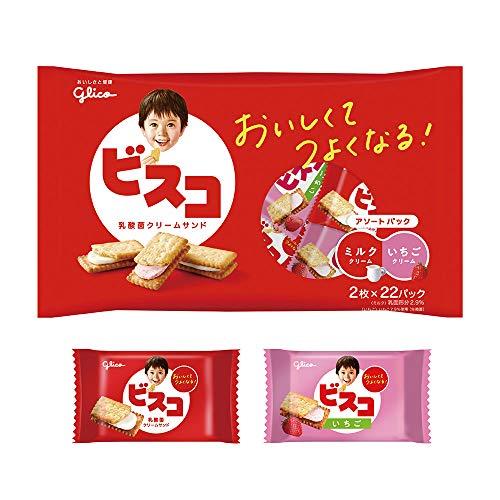 江崎グリコ ビスコ大袋(アソートパック) 44枚 ×6袋