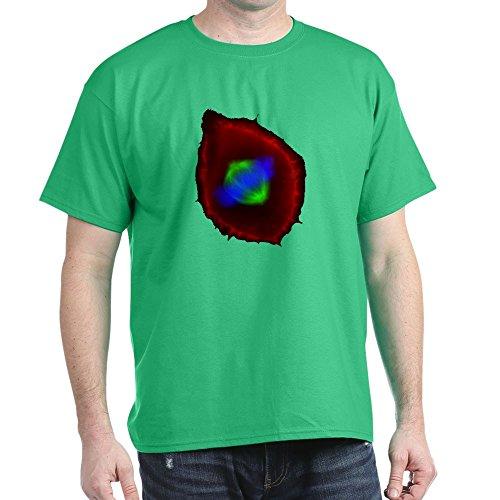 CafePress T-Shirt, 100 % Baumwolle, Schwarz Gr. M, kelly green