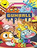 GUMBALL Coloring book: Coloring book for kids and adults + 100 HD Unique anime coloring book of masha and the bear and others ... (High quality)