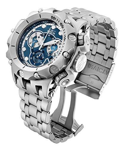 Invicta Venom 51mm reloj de pulsera de acero inoxidable con cronógrafo de cuarzo para hombre (32761)