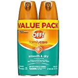 OFF! Family Care Insect & Mosquito Repellent I, Smooth & Dry Bug Spray for the Beach, Backyard,...