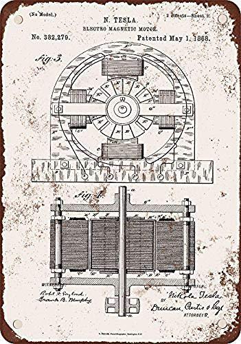 No dream 1888 Nicola Tesla Electro Magnetic Motor
