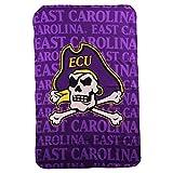 Northwest NCAA Collegiate Team Logo Fleece Throw Blanket 40' x 60' (East Carolina Pirates)