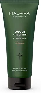 MÁDARA Organic Skincare | Colour And Shine Conditioner - 200ml, With Northern Linseed, Horse Chestnut and P...