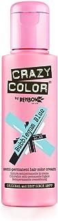 Crazy Color by Renbow No.63 Bubblegum Blue Semi-Permanent Cream, 100ml