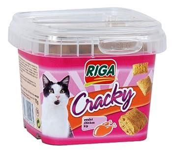 Riga - 4197 - Cracky Poulet Pot de 75 g - Friandise Chat