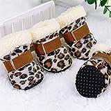 DHDHWL Botas para Perros Zapatos del perro del animal doméstico 4pcs...