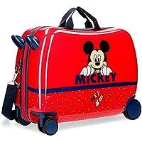 Disney Maleta Infantil Happy Mickey con Ruedas Multidireccionales