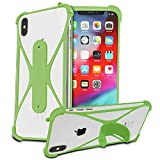 N4U Online® SILICONE BUMPER EDGE CASE COVER SKIN WITH