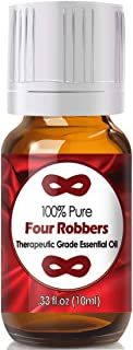 Four Robbers Blend Essential Oil for Diffuser & Reed Diffusers (100% Pure Essential Oil) 10ml