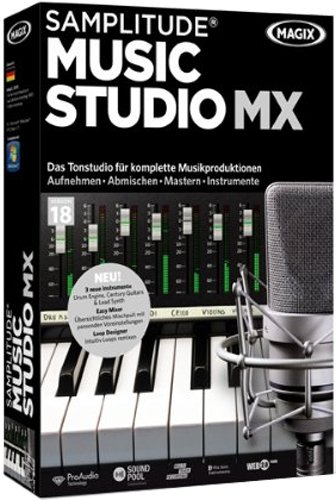 Samplitude Music Studio MX (V.18)
