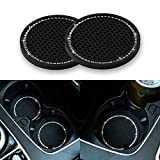 The car cup holder coasters are anti-slip, waterproof and dust-proof, protecting the original car cup holder slot will not be damaged from water stains, dirt, dust and scratches. The car cup holder coasters diameter is 2.75 inch and the thickness is ...