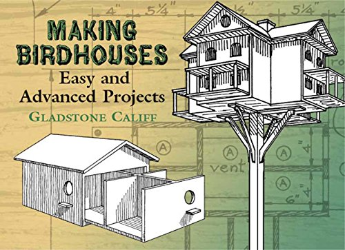 Making Birdhouses: Easy and Advanced Projects (Dover Woodworking) by [Gladstone Califf, Leon H. Baxter]