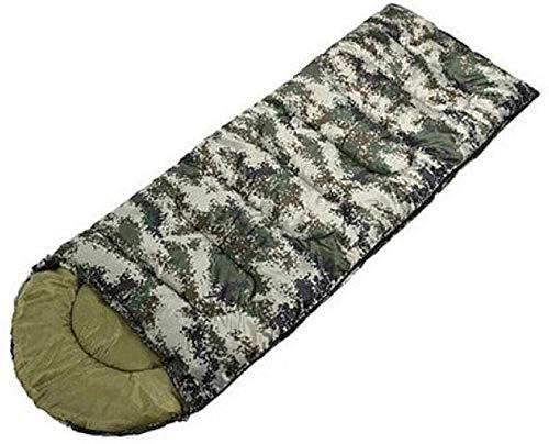 CZWYF Saco de Dormir Bolsa de Dormir del Camuflaje, Saco de Dormir con Espesamiento único Adulto al Aire Libre Interior Campo de Invierno Tienda de campaña for Acampar