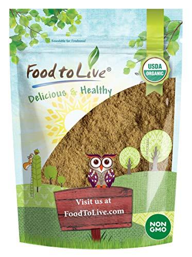 Organic Ginger Root Powder, 4 Ounces - Non-GMO, Kosher, Bulk, Raw Ground Ginger Root, Flour, Sirtfood