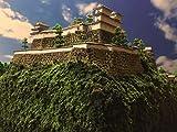 [城ミニ] 日本100名城 高取城 ケース付き お城 模型 ジオラマ完成品 ミニサイズ